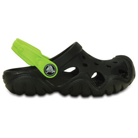 Crocs Swiftwater Sandals Children green/black